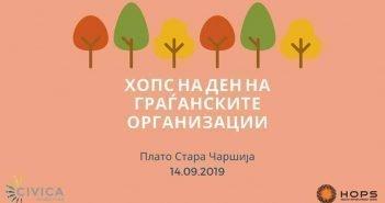 ХОПС на Ден на граѓанските организации