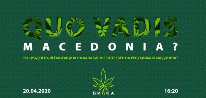QUO VADIS MACEDONIA: Каков модел на легализација и е потребен на Македонија?
