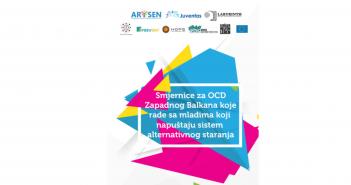 Водич за граѓански организации од Западен Балкан кои работат со млади луѓе кои го напуштаат системот за алтернативна грижа